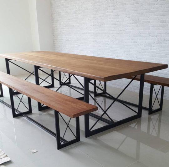 stol-s-lavkami-loft-model-la012