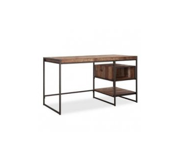 Loft computer desk with drawer and storage niche LA31