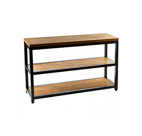Solid wood loft shoe rack sa06