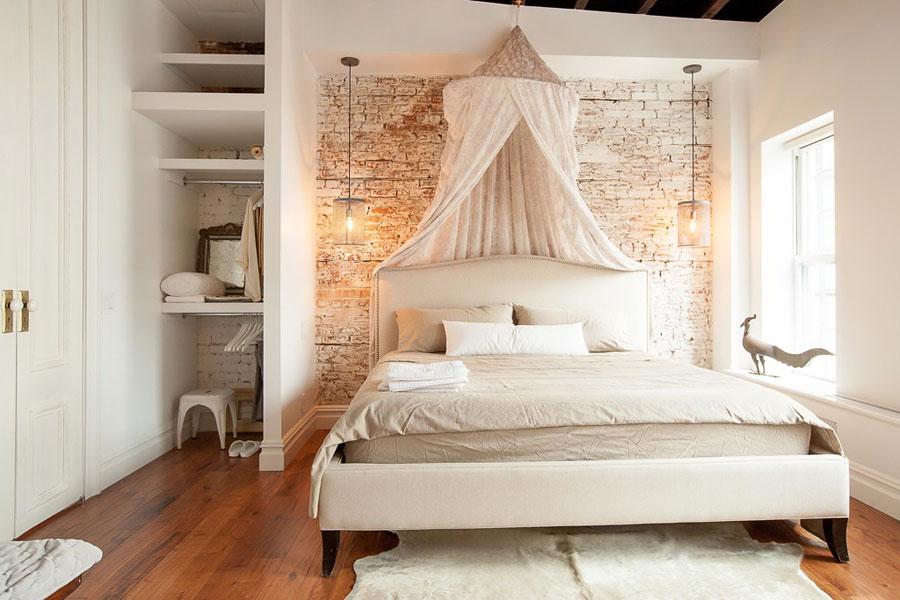 loft brick romantic style