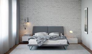 loft brick scandinavian style