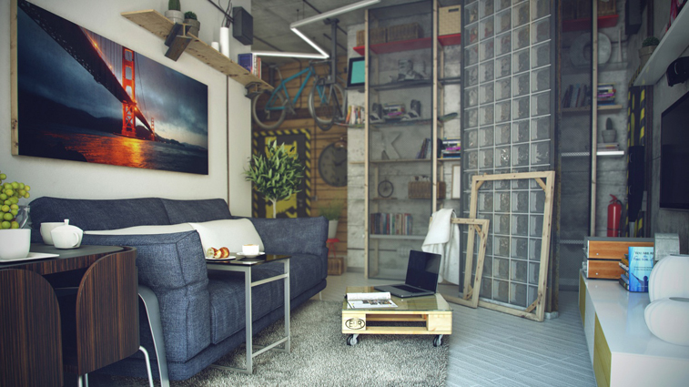 ideas for combining loft and casual lifestyle 06