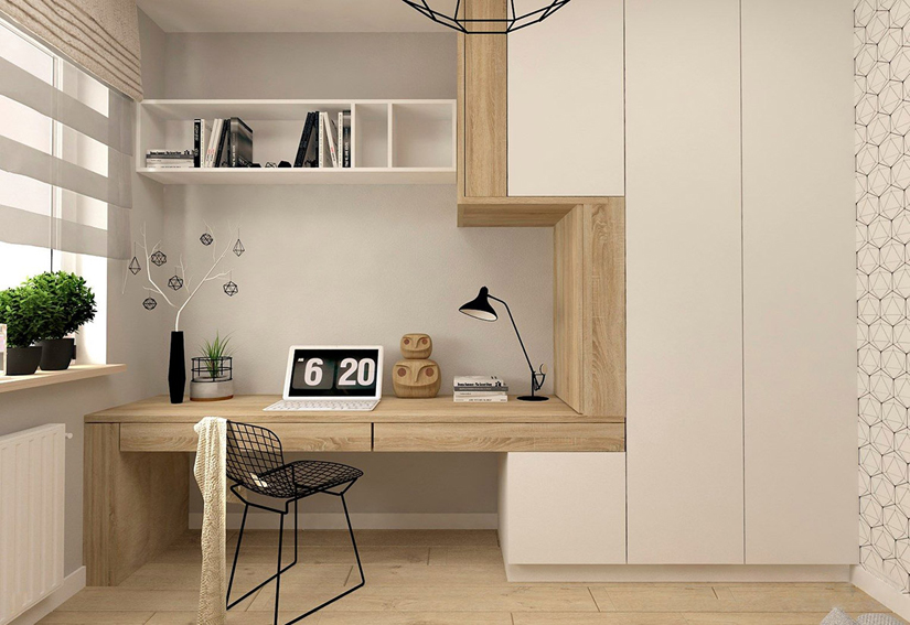 sovremennyy dizayn rabochego kabineta