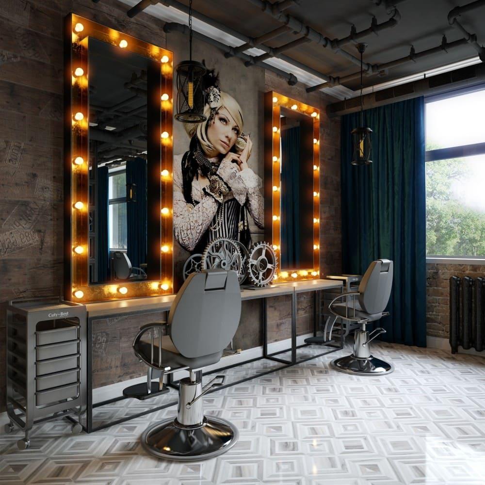 полезны салон красоты в стиле лофт фото сами никогда